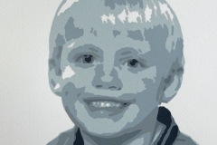 Daan 2017, Zeefdruk, Siebdruck, Screenprint